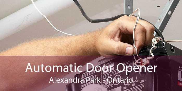 Automatic Door Opener Alexandra Park - Ontario