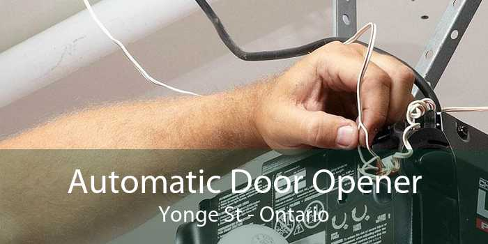 Automatic Door Opener Yonge St - Ontario