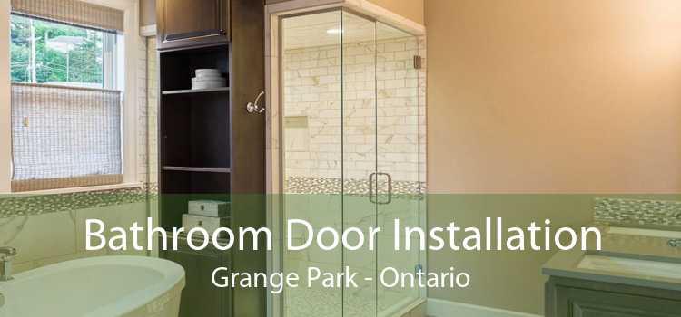 Bathroom Door Installation Grange Park - Ontario