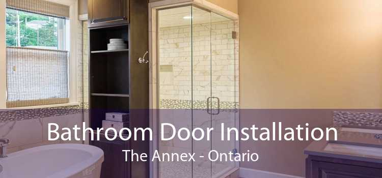 Bathroom Door Installation The Annex - Ontario