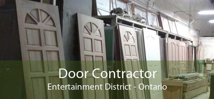 Door Contractor Entertainment District - Ontario