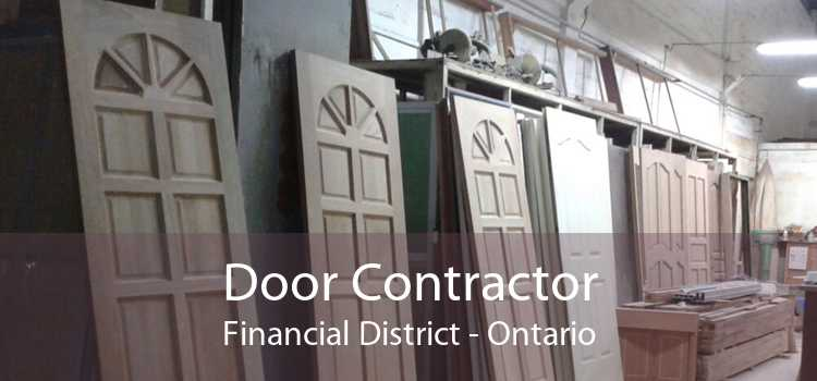 Door Contractor Financial District - Ontario