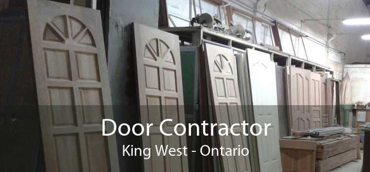 Door Contractor King West - Ontario