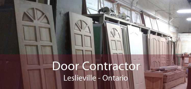 Door Contractor Leslieville - Ontario