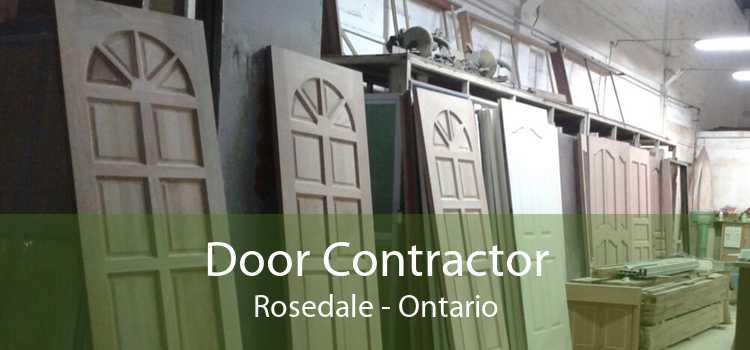 Door Contractor Rosedale - Ontario