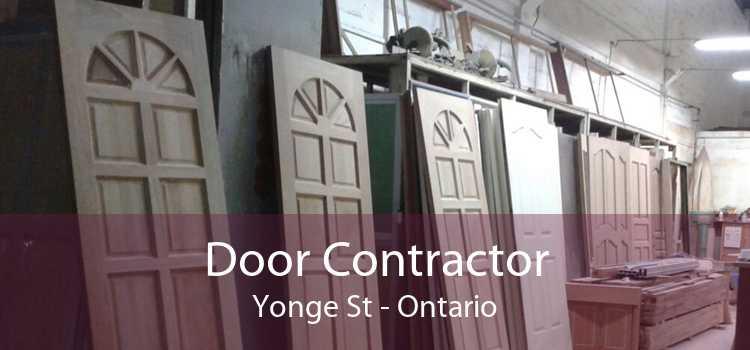 Door Contractor Yonge St - Ontario