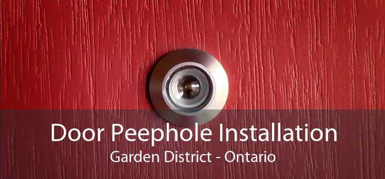 Door Peephole Installation Garden District - Ontario