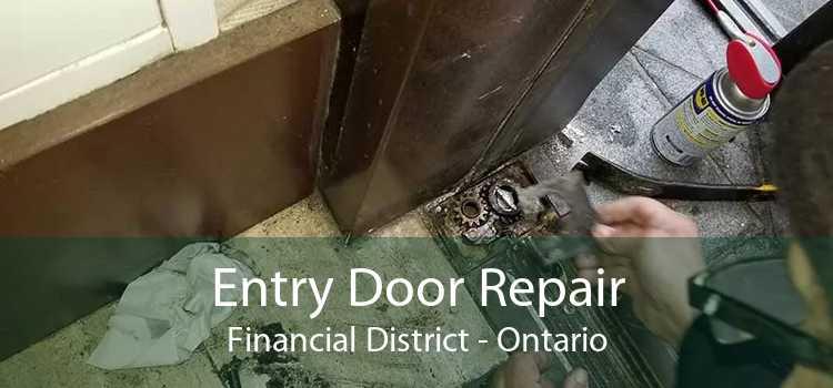 Entry Door Repair Financial District - Ontario