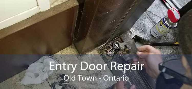 Entry Door Repair Old Town - Ontario