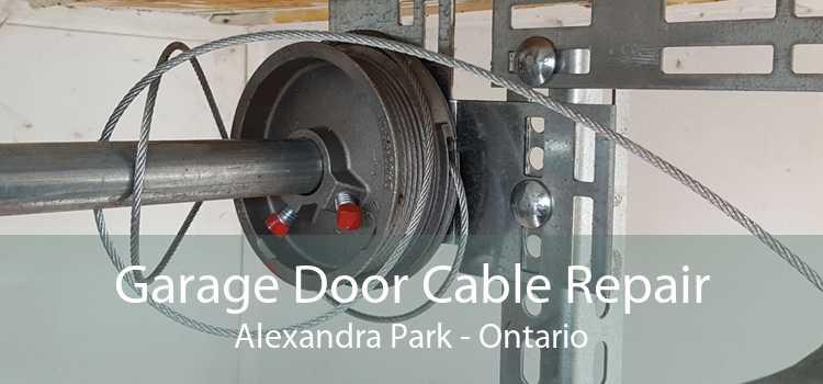 Garage Door Cable Repair Alexandra Park - Ontario