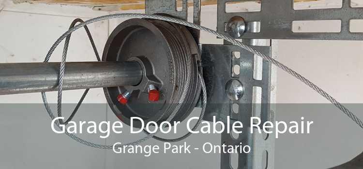 Garage Door Cable Repair Grange Park - Ontario