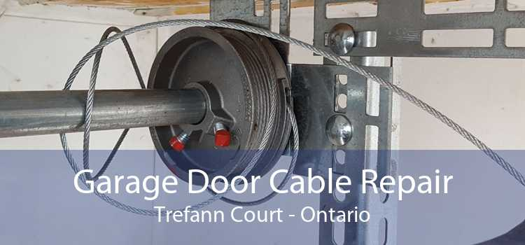 Garage Door Cable Repair Trefann Court - Ontario