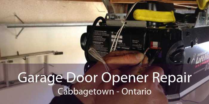 Garage Door Opener Repair Cabbagetown - Ontario
