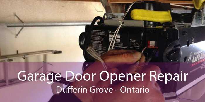 Garage Door Opener Repair Dufferin Grove - Ontario