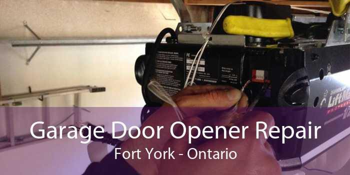 Garage Door Opener Repair Fort York - Ontario