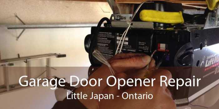 Garage Door Opener Repair Little Japan - Ontario