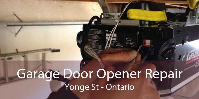 Garage Door Opener Repair Yonge St - Ontario
