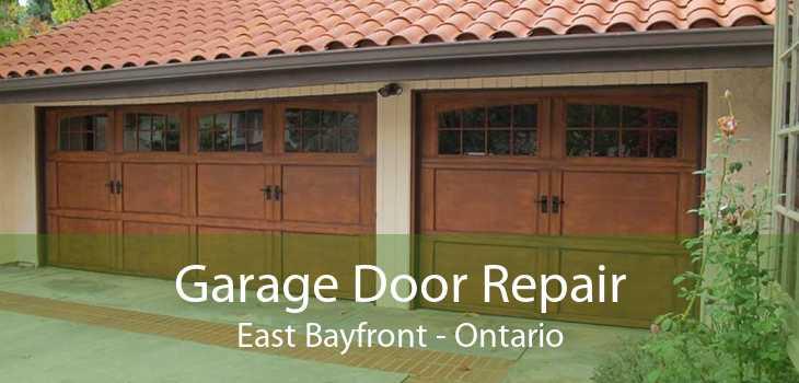 Garage Door Repair East Bayfront - Ontario
