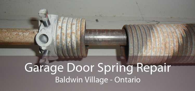 Garage Door Spring Repair Baldwin Village - Ontario