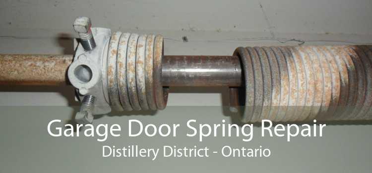 Garage Door Spring Repair Distillery District - Ontario
