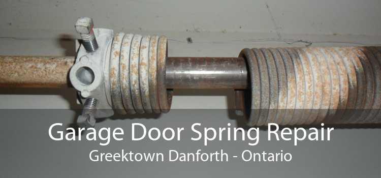 Garage Door Spring Repair Greektown Danforth - Ontario