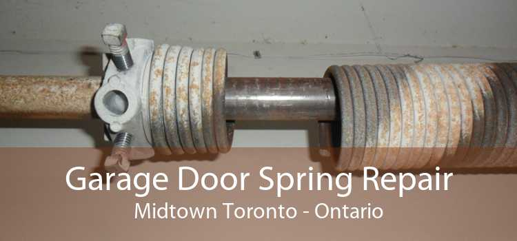 Garage Door Spring Repair Midtown Toronto - Ontario