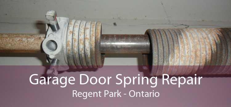 Garage Door Spring Repair Regent Park - Ontario