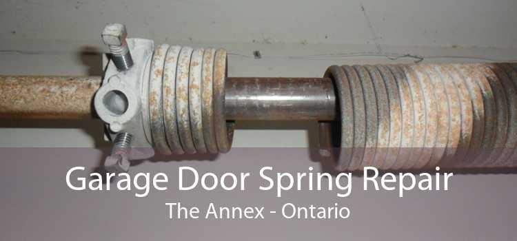 Garage Door Spring Repair The Annex - Ontario