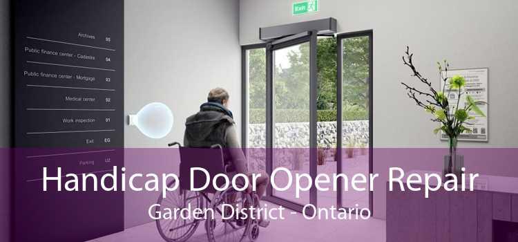 Handicap Door Opener Repair Garden District - Ontario