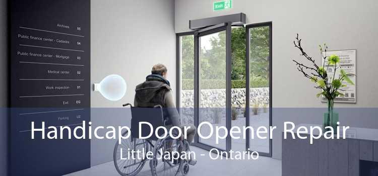 Handicap Door Opener Repair Little Japan - Ontario