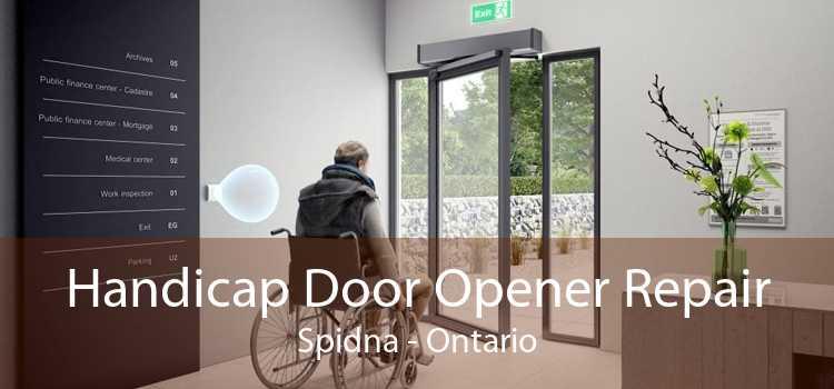 Handicap Door Opener Repair Spidna - Ontario