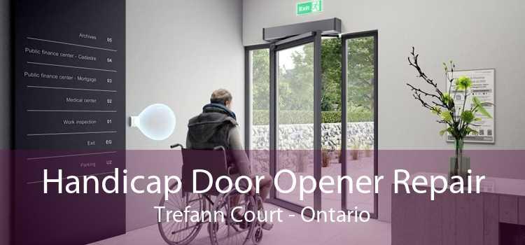 Handicap Door Opener Repair Trefann Court - Ontario