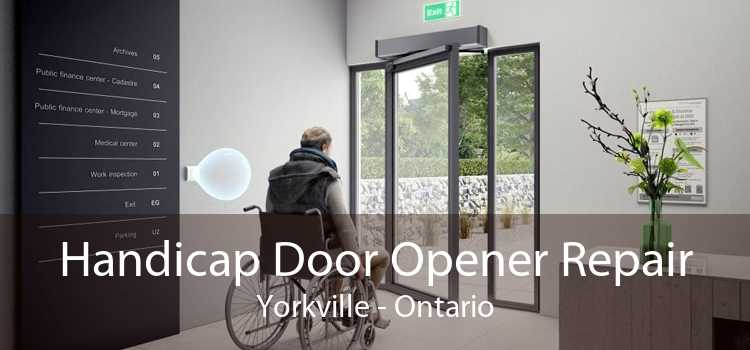 Handicap Door Opener Repair Yorkville - Ontario
