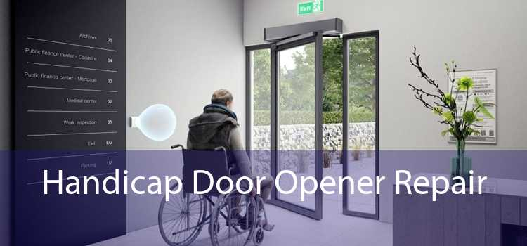 Handicap Door Opener Repair