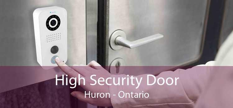 High Security Door Huron - Ontario