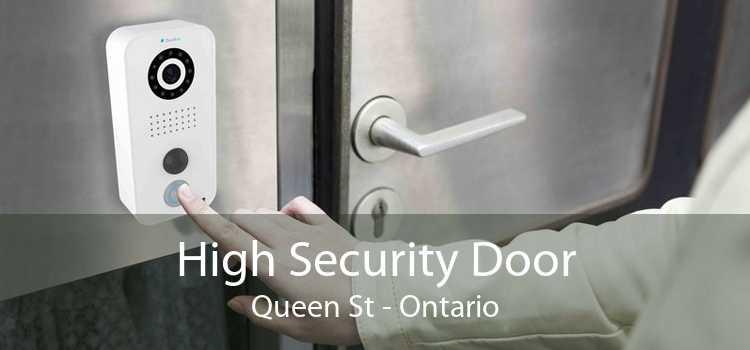 High Security Door Queen St - Ontario
