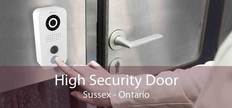 High Security Door Sussex - Ontario
