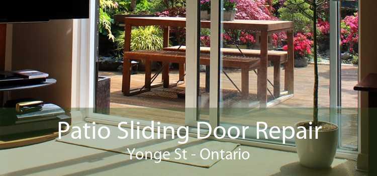Patio Sliding Door Repair Yonge St - Ontario