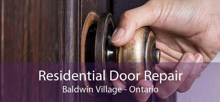 Residential Door Repair Baldwin Village - Ontario