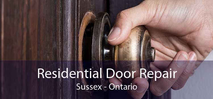 Residential Door Repair Sussex - Ontario