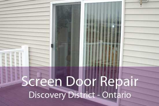 Screen Door Repair Discovery District - Ontario