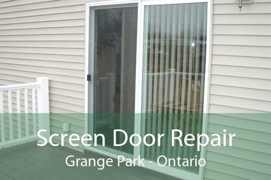 Screen Door Repair Grange Park - Ontario