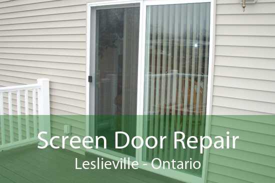 Screen Door Repair Leslieville - Ontario