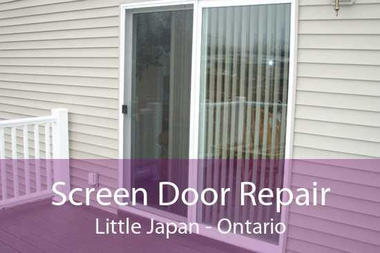 Screen Door Repair Little Japan - Ontario