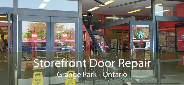 Storefront Door Repair Grange Park - Ontario
