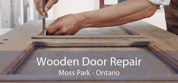 Wooden Door Repair Moss Park - Ontario