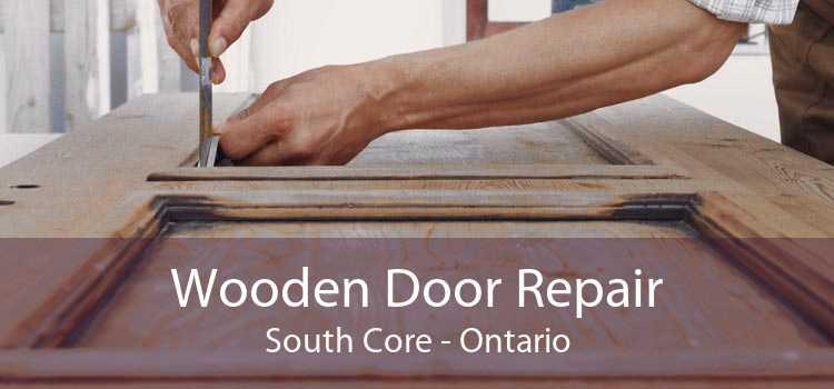 Wooden Door Repair South Core - Ontario